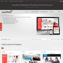 Joomla Templates - Professional Joomla Templates