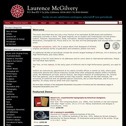 Home Page - Laurence McGilvery - Books on Art