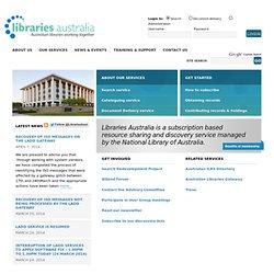 Libraries Australia
