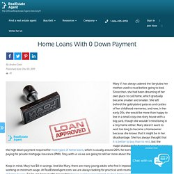 Home Loans With 0 Down Payment For Homebuyers