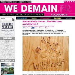 Home made home : bientôt tous architectes ?