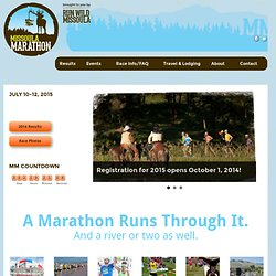 Home Marathon | Run Wild Missoula