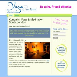 Home - Yoga and Meditation Classes, London SE16