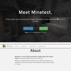 Home - Minetest