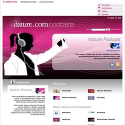 Home : Nature Podcasts