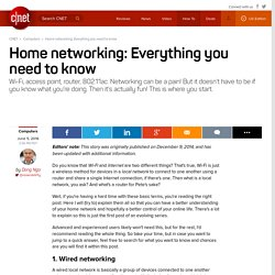 Home networking explained, Part 1: Here's the URL for you