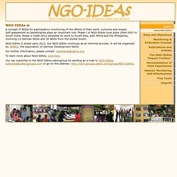 Home - NGO-IDEAs