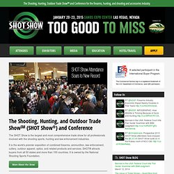 NSSF SHOT Show - Shooting, Hunting, Outdoor Trade Show - SHOT Show