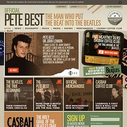 Pete Best, Beatles. The Beatles Pete Best