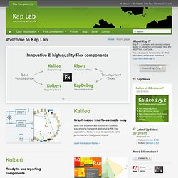 Kap Lab > Home > Powerful Flex / AS3 Data visualization and Intr