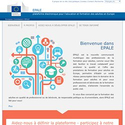 EPALE - Commission européenne