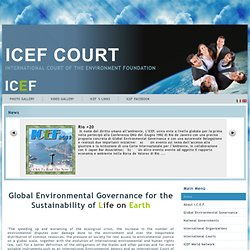Home Page ICEF 's WebSite