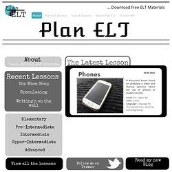 Phones - Plan ELT