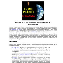 Home Planet Release 3.3a