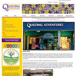 Home - Quilting Adventures