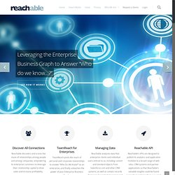 Social business solution – Reach more people – Reachable