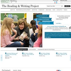 TCRWP - Teachers College Reading & Writing Project