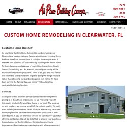 Home Remodeling in Clearwater, FL