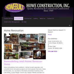 Commercial Contractor In Carson City