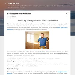Home Repair Service Manhattan