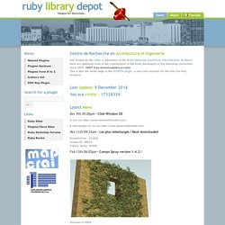 Home - Ruby Library Depot