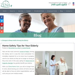 Home Safety Tips for Your Elderly