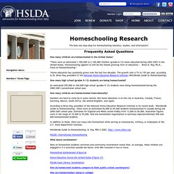 Home School Research