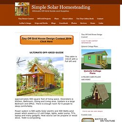 Home - Simple Solar Homesteading