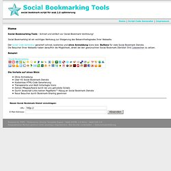 Home - Social-Bookmarking-Tools.de