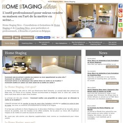 Home Staging Déco en Belgique - Home Staging et Coaching Déco - Home Staging