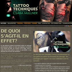 Tattootechniques