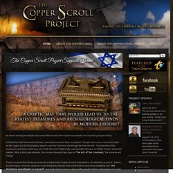 Copper Scroll Project Official website