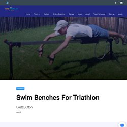 Swim Benches For Triathlon