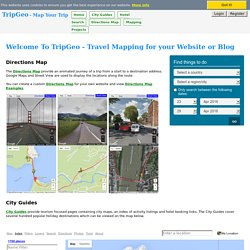 Home - TripGeo.com - Map Your Trip