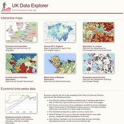 UK Data Explorer