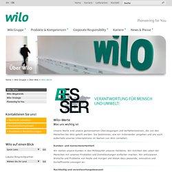 Home-Wilo Gruppe-Über Wilo-Wilo-Werte - WILO