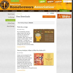 Homebrewers Association | Zymurgy - Free Downloads