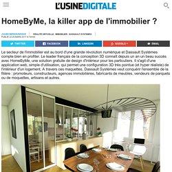 HomeByMe, la killer app de l'immobilier ?