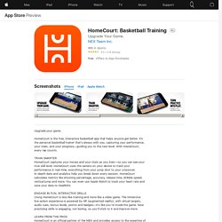 HomeCourt: Basketball Training on the AppStore