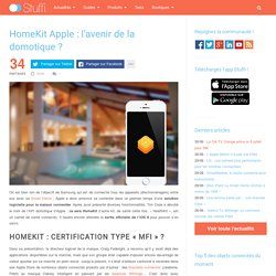 HomeKit Apple : l'avenir de la domotique ?