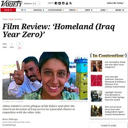 'Homeland (Iraq Year Zero)' Review: Empathy with the Enemy in Iraq War