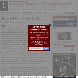 Homeland Security Goes to School