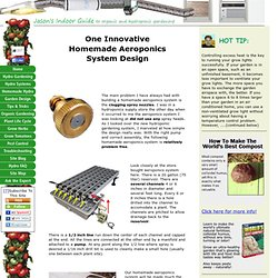 How to Build Your Own Homemade Aeroponics System