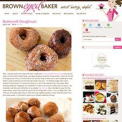 Homemade Buttermilk Doughnuts