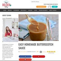 Easy Homemade Butterscotch Sauce