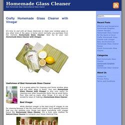Best Homemade Glass Cleaner Archives - Homemade Glass Cleaner
