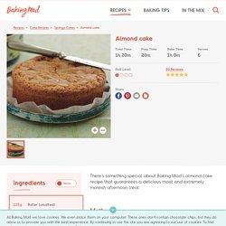 Homemade Almond Cake Recipe