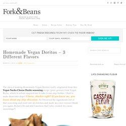 Homemade Vegan Doritos - 3 Different Flavors