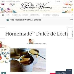 """""""Homemade"""" Dulce de Leche"""