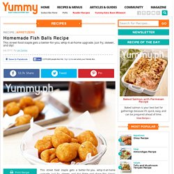 Homemade Fish Balls Recipe